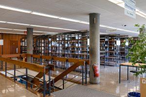 Universitätsbibliothek Stuttgart, Standort Stadtmitte, Stuttgart, 08.06.2016