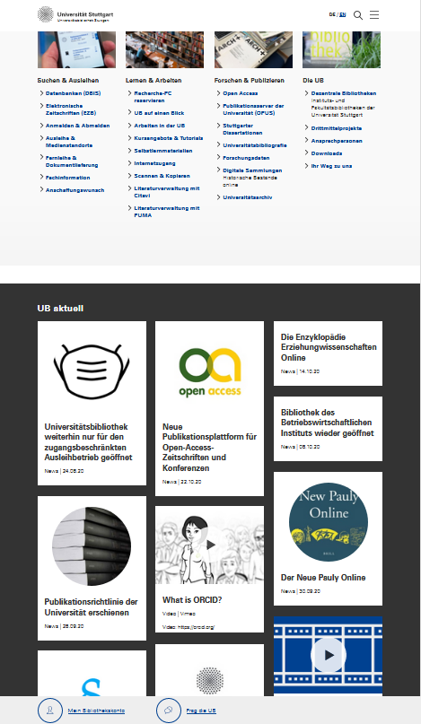 Dieser Blog wird eingestellt und in den News Stream der neuen UB-Webseite überführt